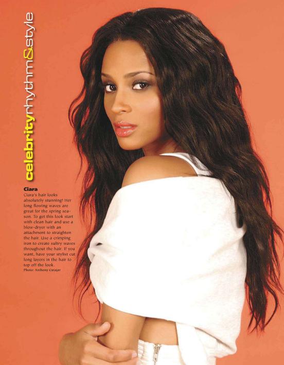 Ciara dans le magazine Hype Hair (Mars)