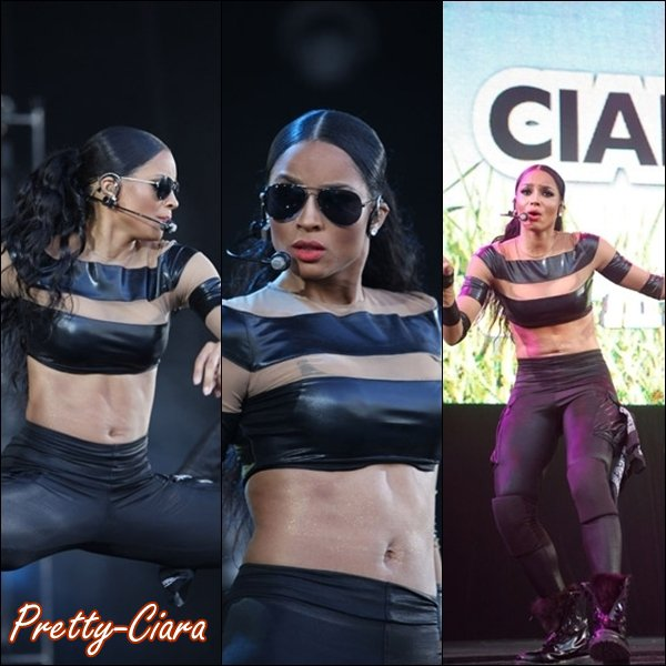 ">Samedi 9 Avril Ciara performe au festival ""SupaFest"" à Sydney"