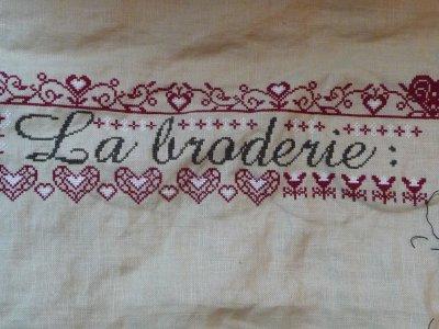 SAL La broderie: c'est tout un art