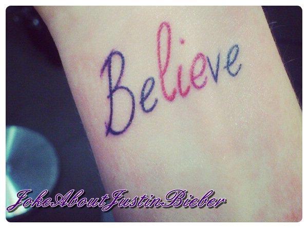 Mon tatouage !