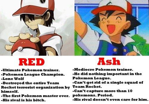 La diference entre Red et Sacha
