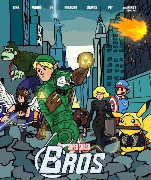 et si les plus grand héros de Nintendo faisait partie d'un comics