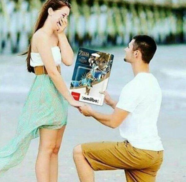 La meilleur demande en mariage