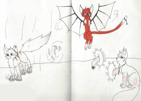 Encore de nouveaux des dessins !