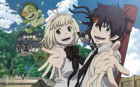 blue exorcist (Rin x Shiemi<3)