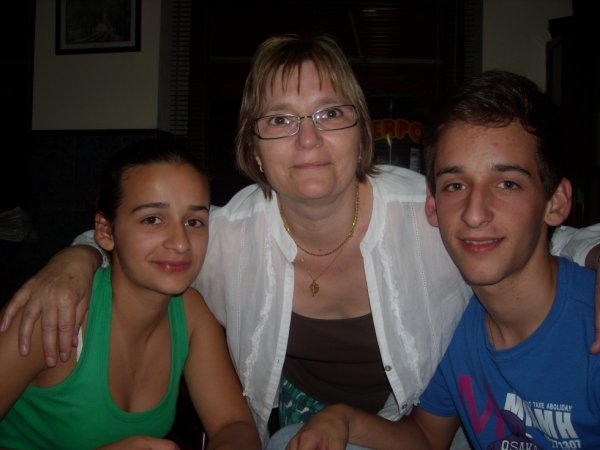 Ma nièce, mon neveu et moi !