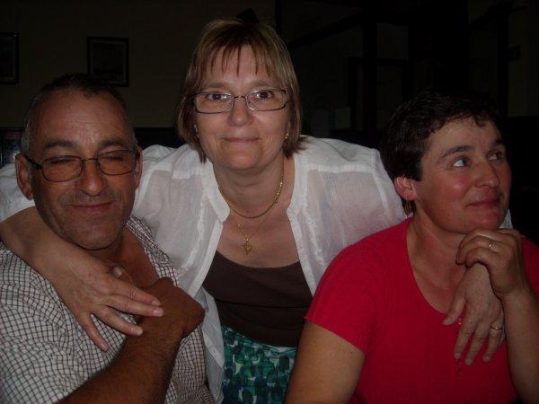 Mon frere , ma belle soeur et moi