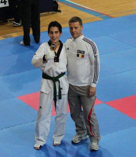 Championnat du Luxembourg médaille d'Or pour Théo et chloé, bravo les loulous