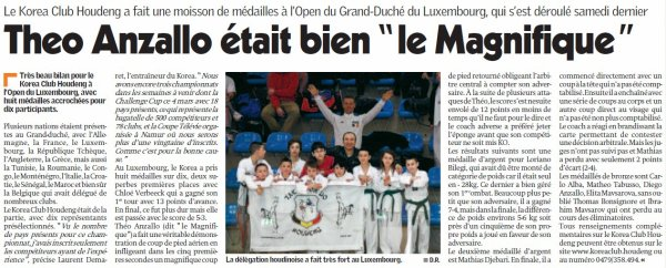 article de presse Open du Luxembourg