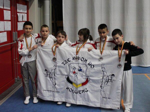 Championnat Tongres Bravo à tous nos ptits Loulous ;-)