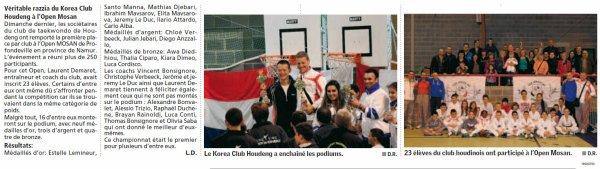 Article de presse Open Mosan