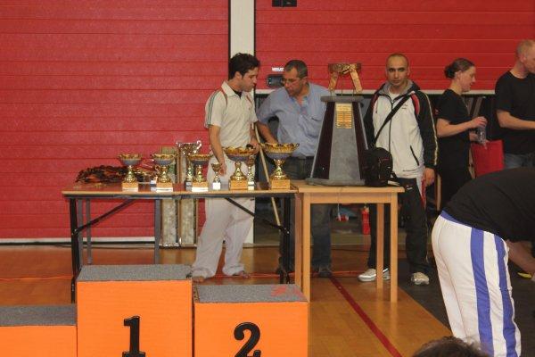 Coupe Hennuyère 2012  une partie de nos médaillés présents ;-)