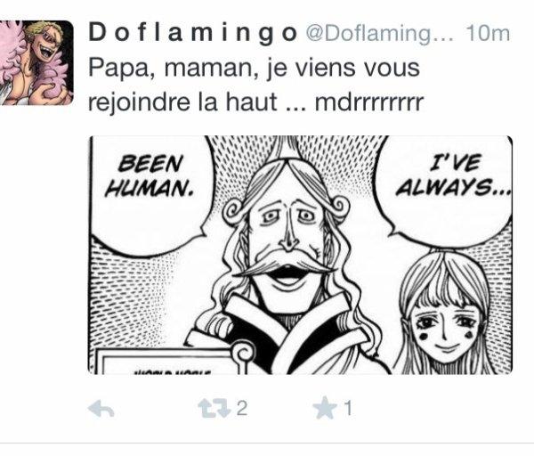 ~Plus de respect pour Doffy même sur Twitter ~