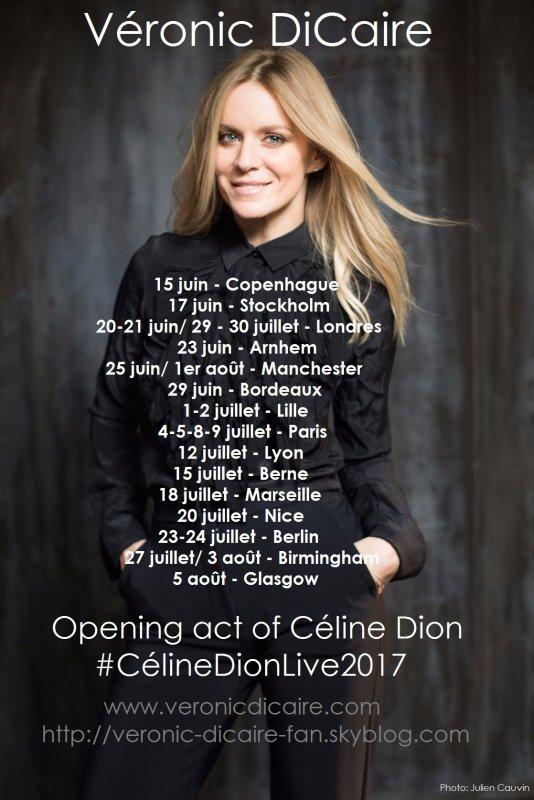 Véronic DiCaire #CélineDionLive2017