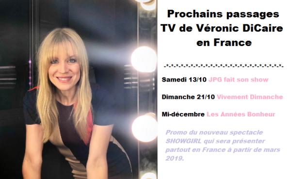 Passages TV de Véronic #promo