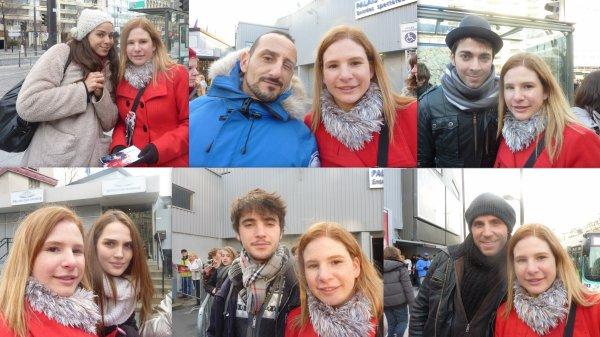 Avec une partie des membre de la troupe le 8 décembre 2012 !
