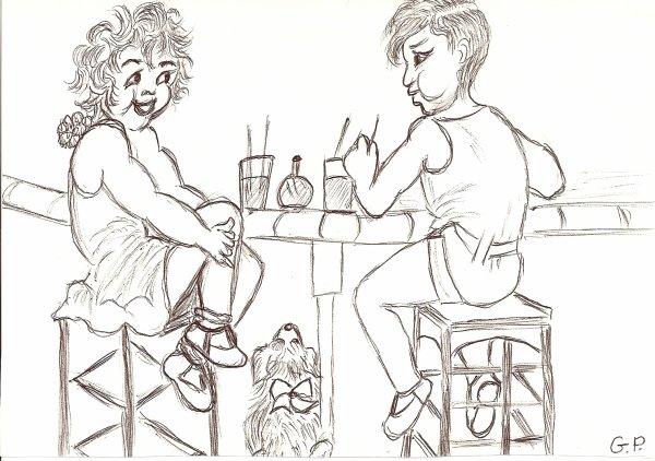 MARDI 1 MARS  2011 (LES DESSINS D'UNE FEMME FORMIDABLE DE 86 ANS