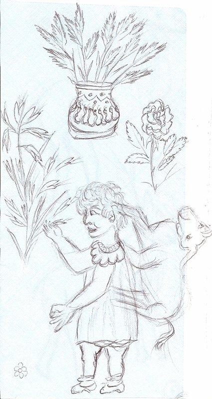 MERCREDI 2  MARS  2011 (LES DESSINS D'UNE FEMME FORMIDABLE DE 86 ANS