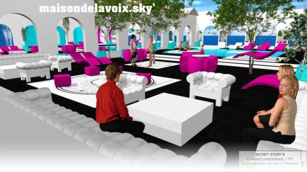 Modelisation du Jardin 2011 et révélation de la Décoratrice...
