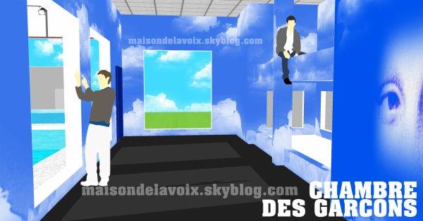 Les chambres 2012 : des lits mezzanines communs !!!