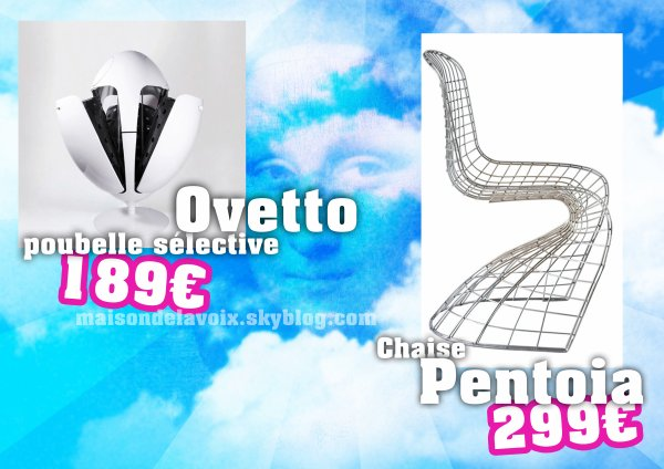 EXCLU ! Le mobilier 2012 : le Design est de retour... et les prix aussi !!!