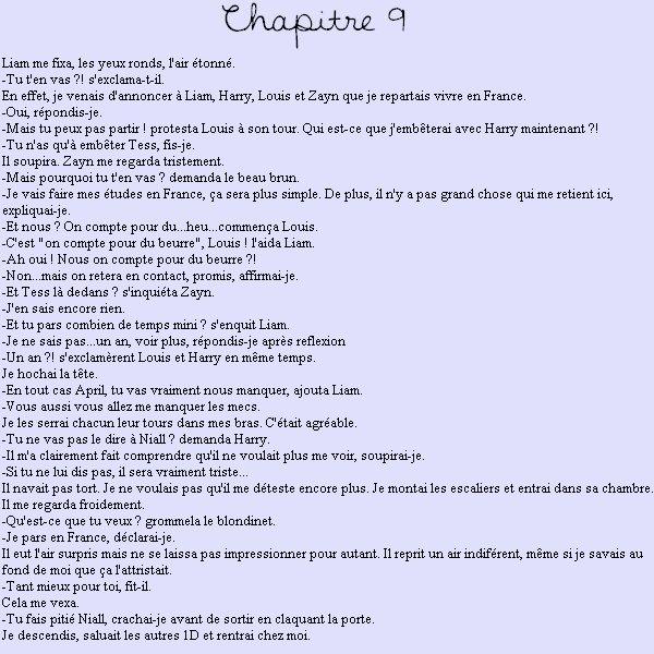 Chapitre 9 : fin