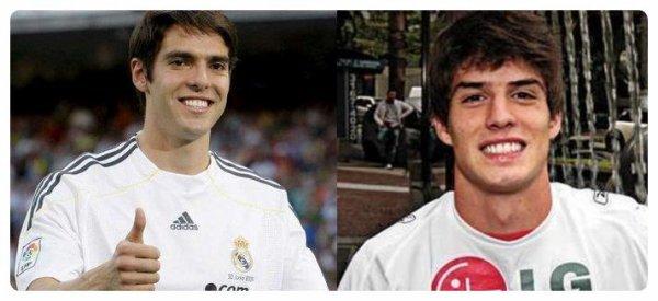 Ricardo Kakà (Real Madrid) & Lucas Piazón (Chelsea)