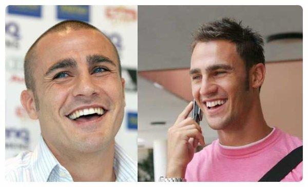 Fabio Cannavaro (Siliguri) &  Paolo Cannavaro (Napoli)