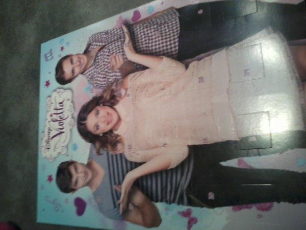 mon calendrier de l'avent violetta