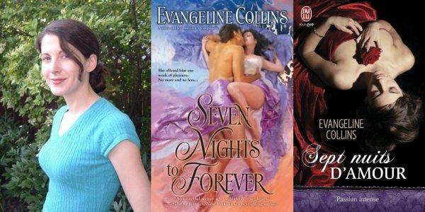 Sept nuits d'amour d'Evangeline Collins :