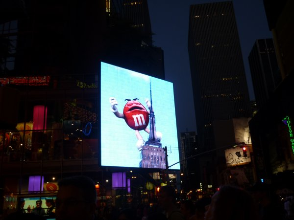 Time Square et Shake Shake