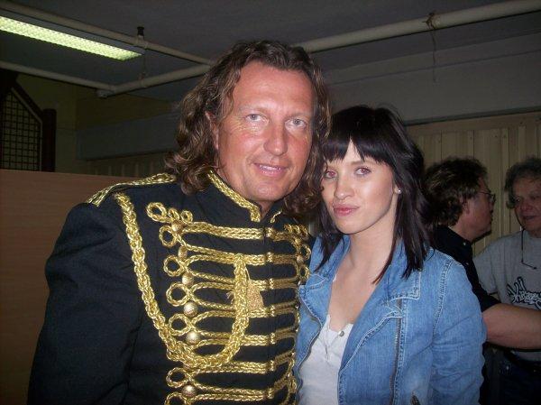 Romain ...artiste ventrilogue et moi