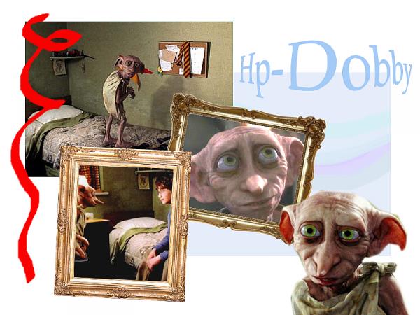 La présence de Dobby dans la saga Harry Potter