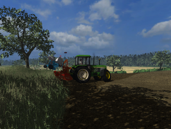 3650 & combiné de semis de maïs