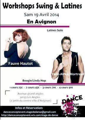 Workshop en Avignon le samedi 19 avril 2014: