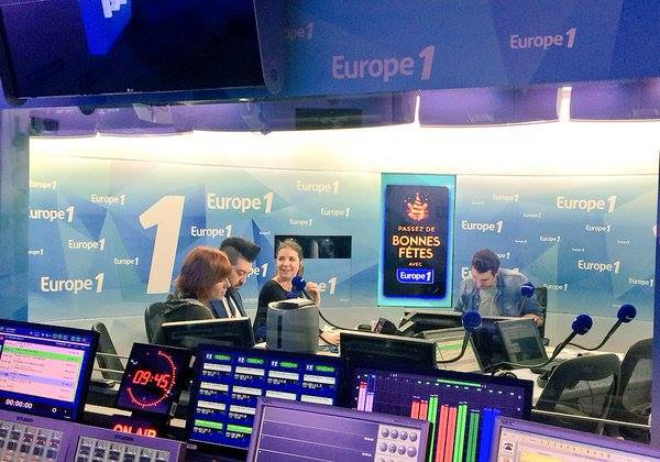 "Interview de Fauve et Chris Marques sur la radio "" Europe 1 "" faite le 23 décembre 2015:"