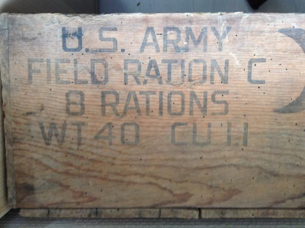 Caisse us army field ration C