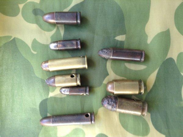 Balles de pistolets