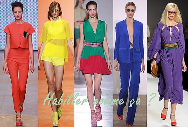Sujet:  #1~ Les Tendances de cette été.  La Fashion Police.