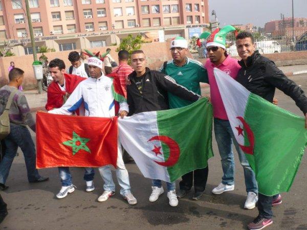 MOI A MARRAKECH DEPLACEMENT POUR LE MATCH MAROC VS ALGERIE