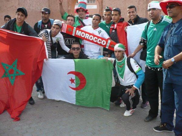 TJR MOI A MARRAKECH DEPLACEMENT POUR LE MATCH MAROC VS ALGERIE