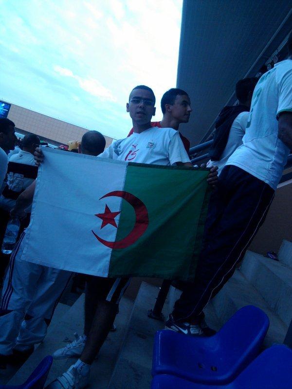 MOI AU STADE DE MARAKECH DEPLACEMENT POUR LE MATCH MAROC VS ALGERIE
