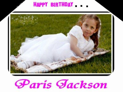 Happy Birthday Paris♥ ٥ﻻ ﻉ√٥ﺎ ٱц