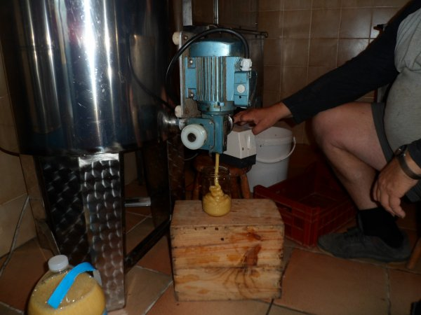 Fabrication miel crémeux