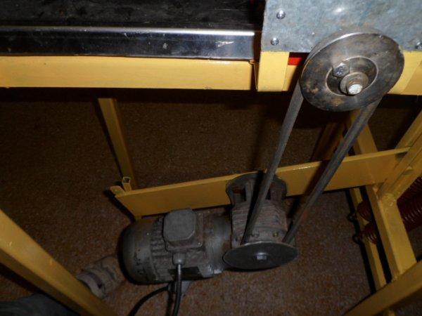 Motorisation d'un gaufrier manuel