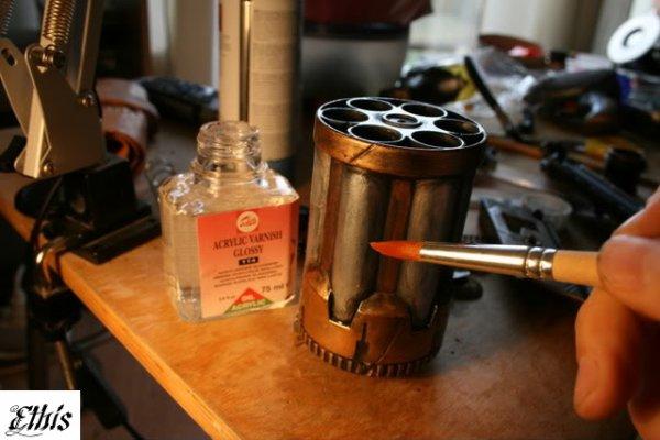 Revolver Steampunk (2ème Partie)