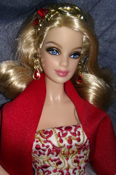 Barbie soir de noël (Collection 2010)