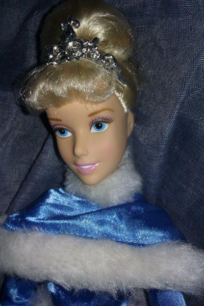Cendrillon hiver (disney store 2010)
