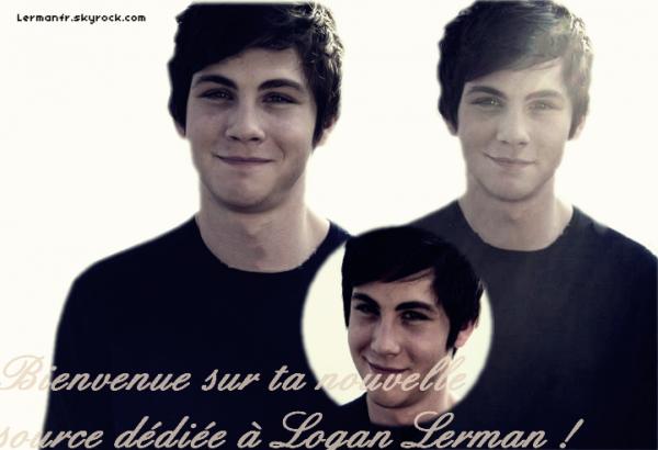 Ta nouvelle source sur le beau Logan Lerman ;)