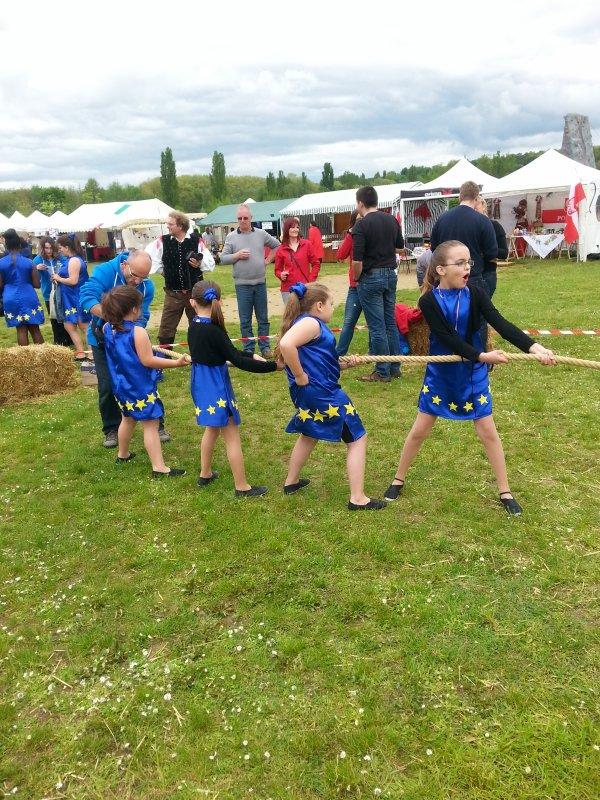 Sortie le 18 et 19 Mai 2013 à Bois le rois pour le festival de l'Europe.